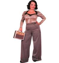 Damen Swing Trouser 40iger Jahre Miss Candyfloss