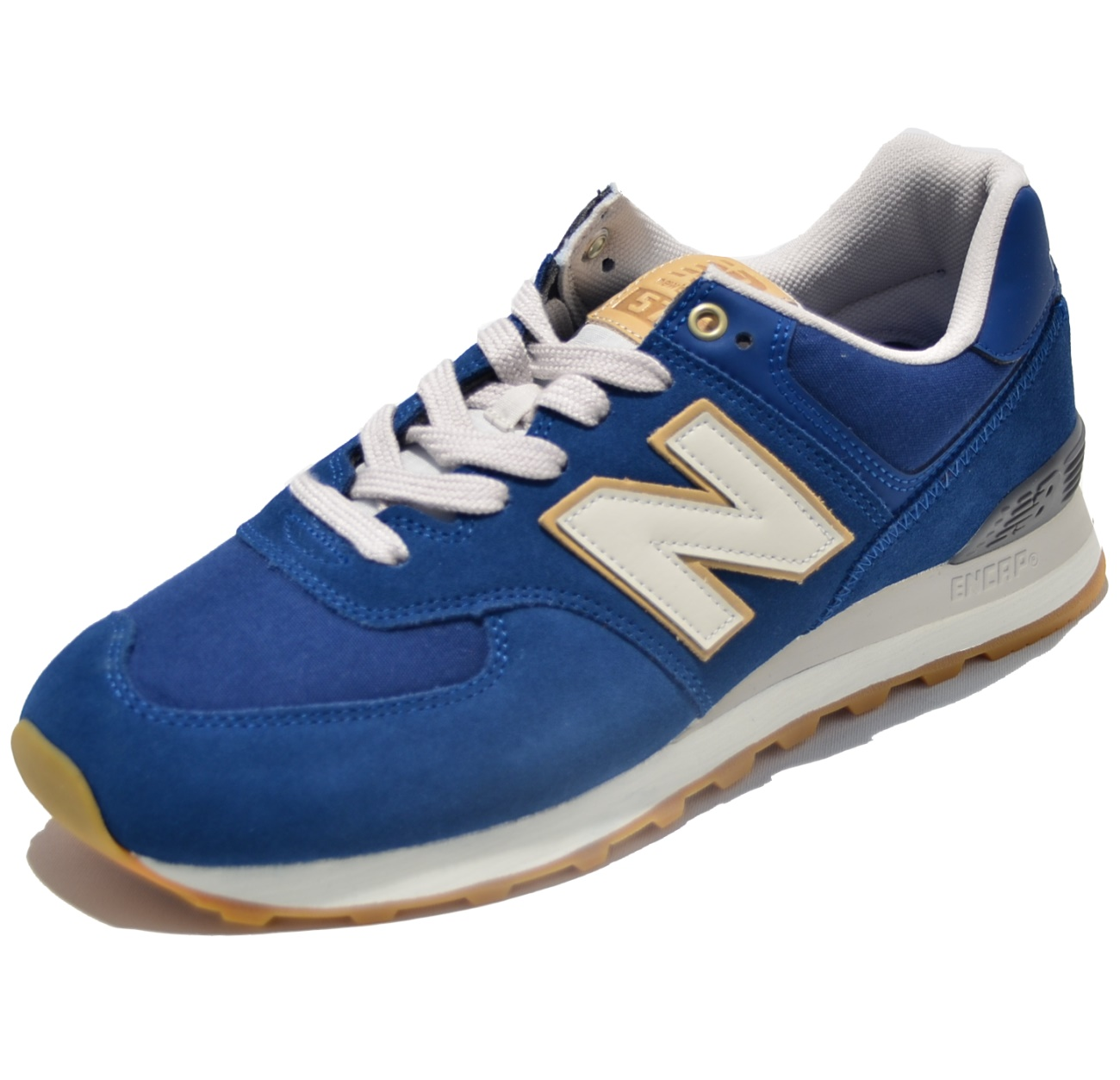 finest selection 8bb0a dc0ee New Balance Classic Laufschuhe ML574OUB in Farbe blau - New Balance bei  Army Shop - www.armydepot-chemnitz.de