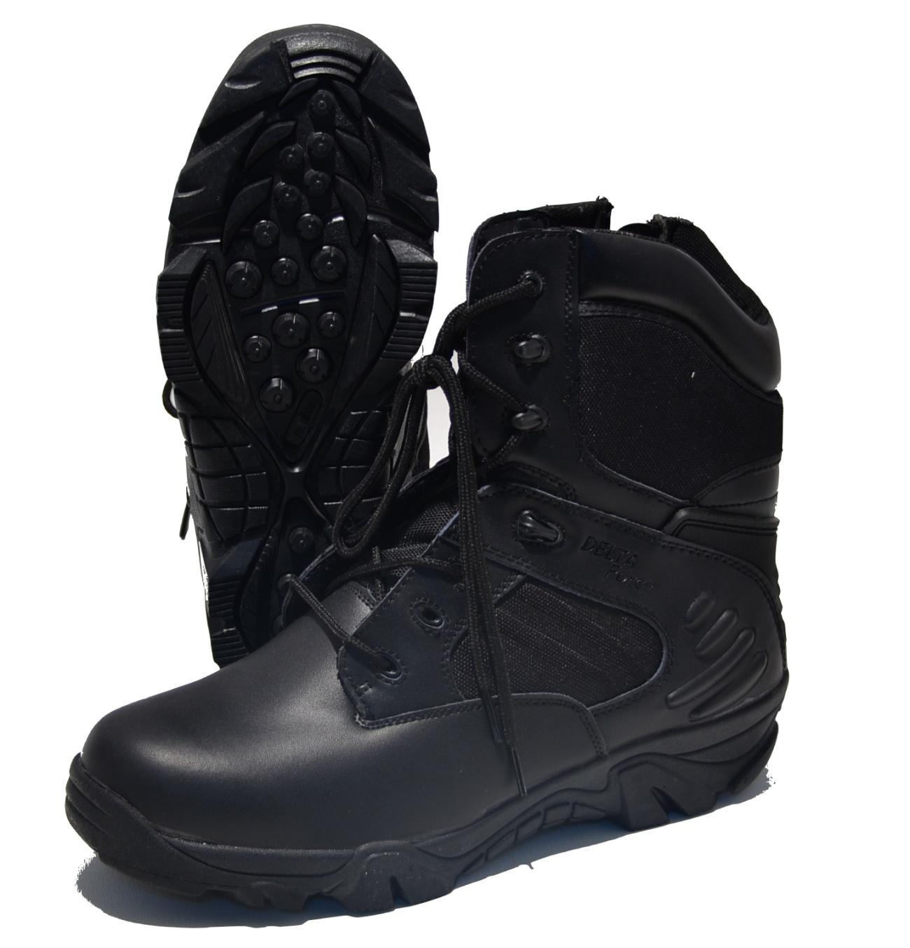 414d3730a1ea55 MC Allister Outdoor Boots Delta Force in schwarz - MC Allister Shop ...