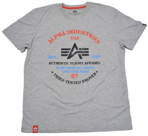 Alpha Industries T-Shirt Authentic Print T