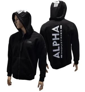 Alpha Industries Kapuzenjacke Bag Print Zip Hoody