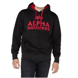 Alpha Industries Kapuzensweatshirt Foam Print