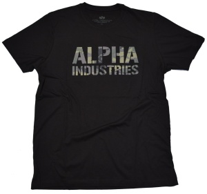 Alpha Industries T-Shirt Camo Print