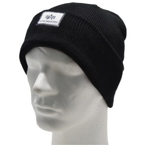 Alpha Industries Strickmütze Beanie X-Fit in oliv oder dunkelblau 168905