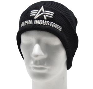 Alpha Industries Strickmütze/Beanie 3D