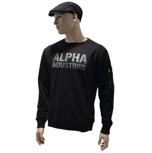 Alpha Industries Sweatshirt Camo Print