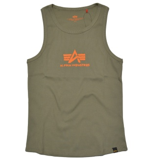 Alpha Industries Logo Tank Muskelshirt Unterhemd