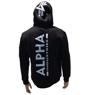 Alpha Industries Kapuzensweatshirt Back Print