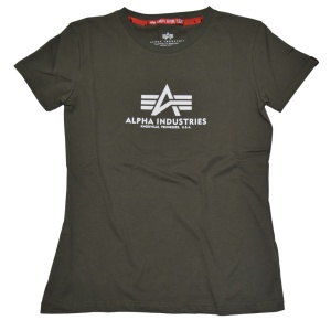 Alpha Industries Damen Basic T-Shirt
