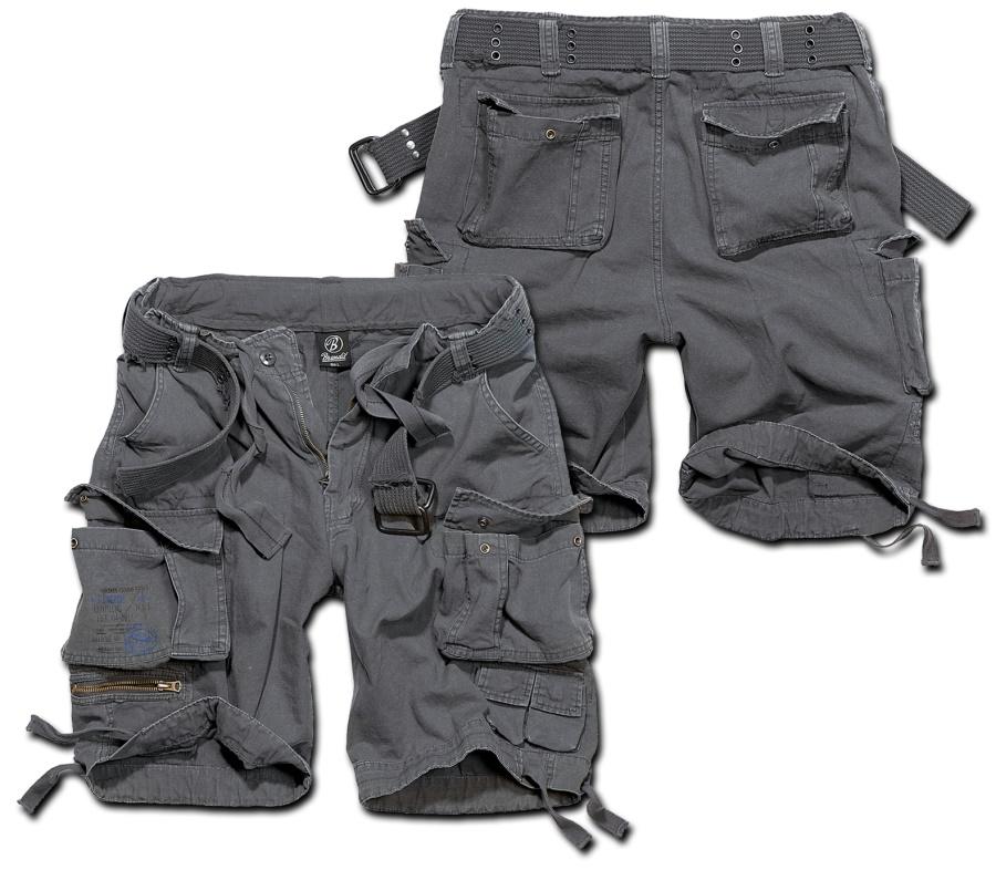neu kommen an USA billig verkaufen große Sammlung Brandit Short Savage Vintage kurze Cargo- Hose im Armystyle mit vielen  Taschen leicht überknielang - Brandit bei Ostzone Shop -  www.ostzoneshirts.de