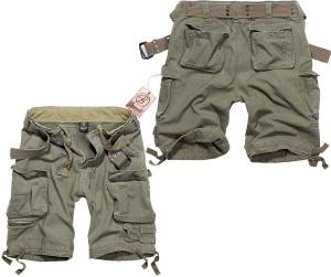 Brandit Short Savage Vintage kurze Cargo- Hose im Armystyle mit vielen Taschen leicht überknielang