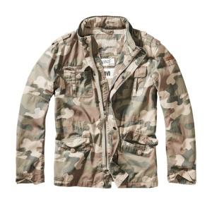 Brandit Sommer Jacke Britannia in woodland tarn