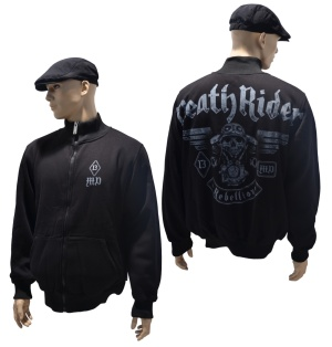 Dobermans Aggressive dick gefütterte Sweatjacke Death Rider