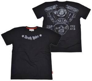 Dobermans Aggressive T-Shirt Death Rider IV Totenkopf V2 Motor