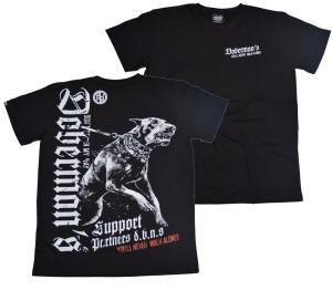 Dobermans Aggressive T-Shirt Dobermans You ll never walk alone
