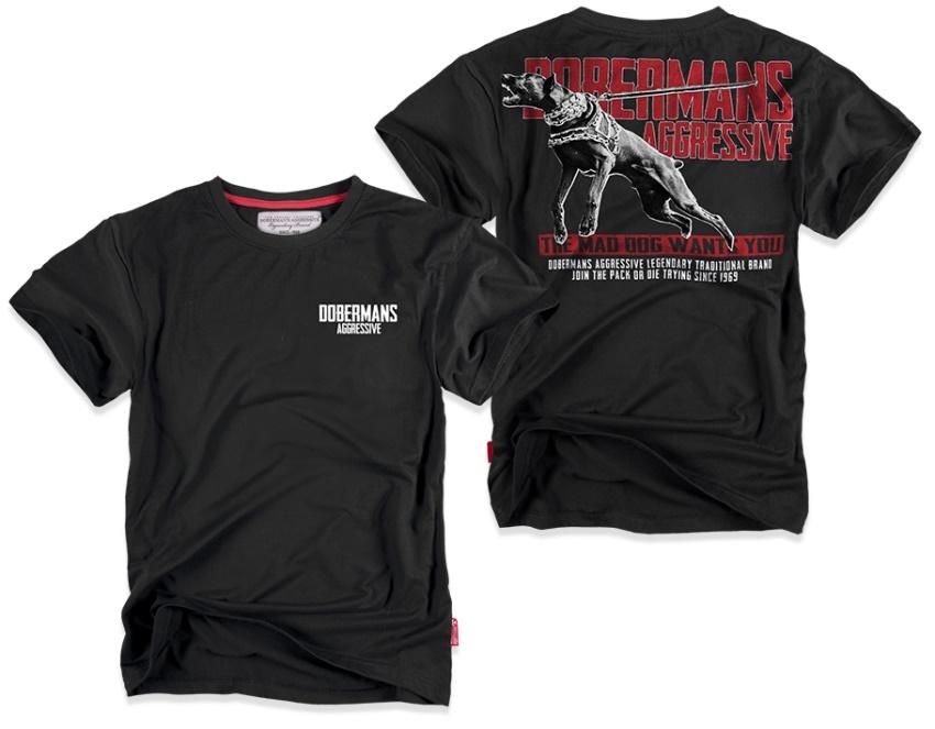 Dobermans aggressive urban clothing t shirt dobermans for Urban streetwear t shirts
