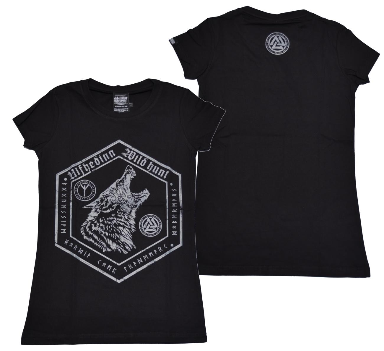 Dobermans Aggressive Damen T-Shirt Ulfhedinn