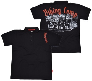 Dobermans Aggressive Poloshirt Viking Comp Blood of the Vikings