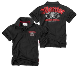 Dobermans Aggressive Streetwear Poloshirt Warrior Wikingermotiv