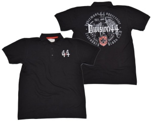 Dobermans Aggressive Viking Clothing Polo-Shirt Division 44