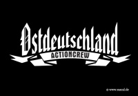 Aufkleber Ostdeutschland Actioncrew gratis