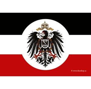 Aufkleber Deutsches Kaiserreich mit Adler - Gratis