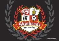 Aufkleber Skinheads have more fun - gratis