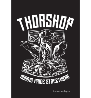 Aufkleber Thorshop - gratis