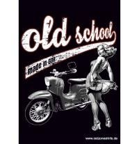 Aufkleber Old School -Schwalbe - gratis