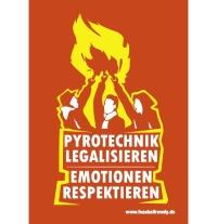Aufkleber Pyrotechnik Legalisieren - gratis