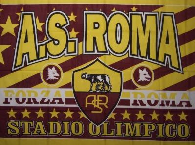 Fahne as roma 3 halbzeit clubs italien details for Irriducibili shop