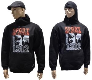 Ninja Kapzensweat Sport im Osten G513