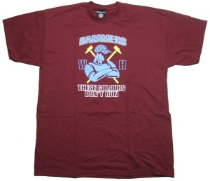 T-Shirt West Ham Hammers These Colours dont run !