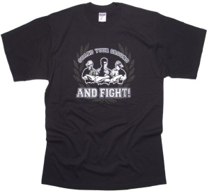 T-Shirt Stand your Ground and Fight!