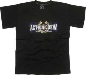 T-Shirt Action Crew Football Drinks & Rock n Roll