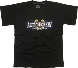 T-Shirt Action Crew Football Drinks & Rock n Roll