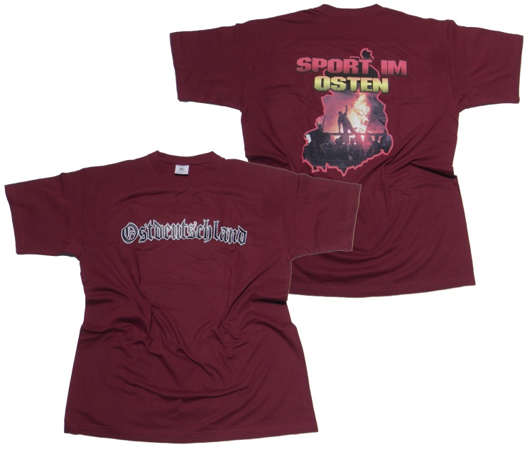 T shirt sport im osten ostzone t shirts details for Irriducibili shop