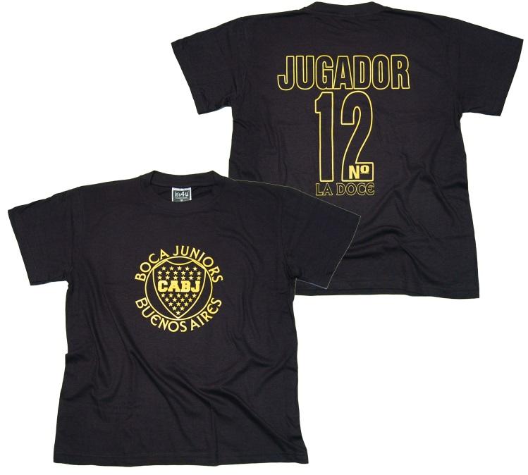 Boca juniors t shirt 3 halbzeit t shirts details for Irriducibili shop