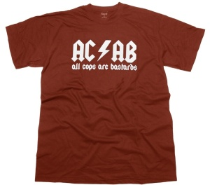 T-Shirt AC/AB All Cops Are Bastards G6