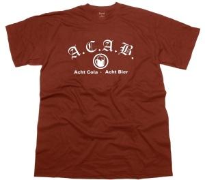 T-Shirt A.C.A.B. Acht Cola Acht Bier G5