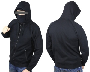 No Face no Name Ninja Kapuzenjacke Assault