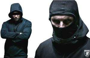 PG Wear Ninja Hoodie Front Line