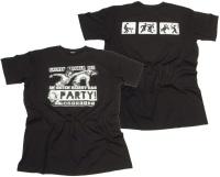 T-Shirt Saufen Prügeln Sex Im Osten heißt das Party