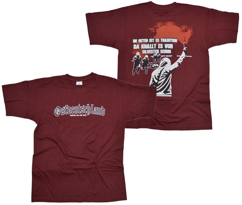 T-Shirt Im Osten ist es Tradition G72U RU