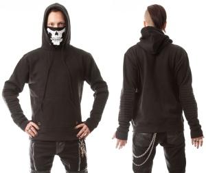 Vanish Hood Heartless/Kapuzenpulli Skelettmaske