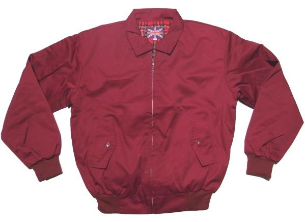 cheap for discount d602a e40d6 Sommer Jacke im Harrington Style schöne englandstyle Sommerjacke mit  kariertem Innenfutter - Jacken bei Ostzone Shop - www.ostzoneshirts.de