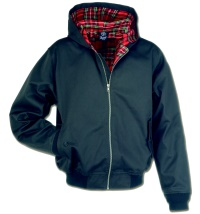 Hooded Harrington Style Jacke mit Kapuze