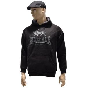 Orginal Lonsdale London Kapuzensweatshirt Classic Logo schwarz