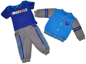 Lonsdale London Baby Set 3teilg