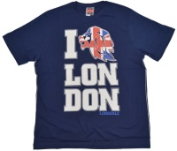 Lonsdale London T-Shirt Union Jack Lion